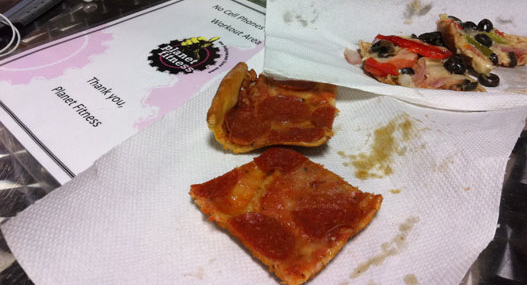 planet fitness pizza evolve my life